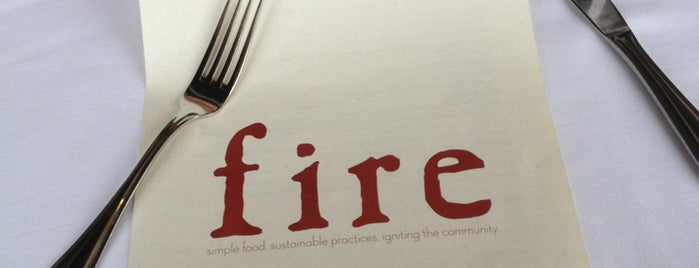 Fire Food & Drink is one of Sea to Table Chef Partners.