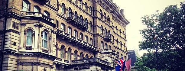 The Langham is one of Marylebone, London.