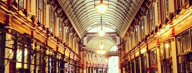 Leadenhall Market is one of Inglaterra.
