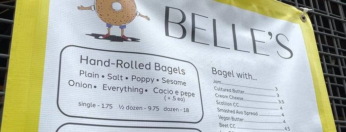 Belle's Bagels is one of Sandwich.