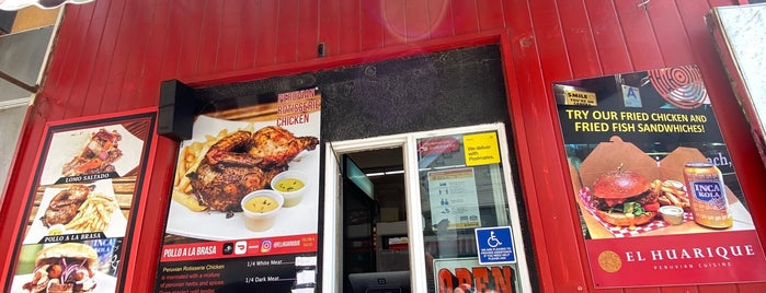 El Huarique Peruvian Cuisine is one of Orte, die Amaya gefallen.