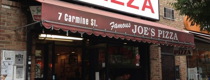 Joe's Pizza is one of Food Near the Venues.