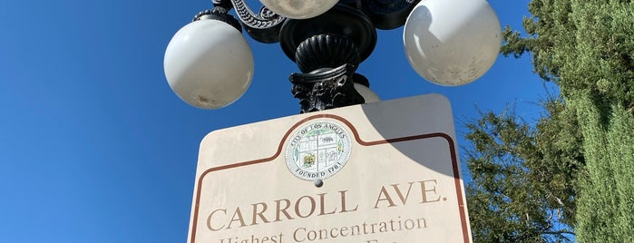Carroll Avenue 1300 Block Historic District is one of Los Angeles.