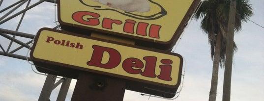 Pierogi Grill and Polish Deli is one of Tempat yang Disimpan Clark.