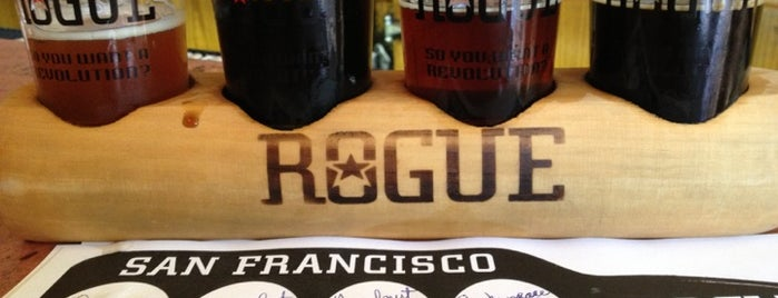 Rogue Ales Public House is one of Brewskiing.