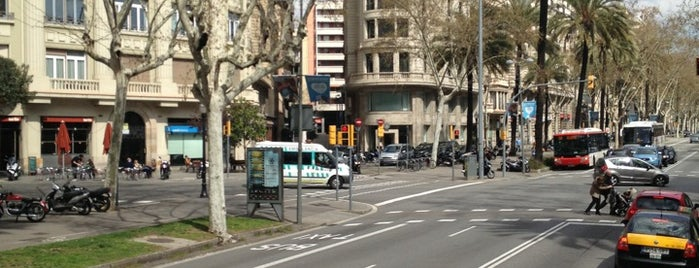 Avenue Diagonal Area is one of Barcelona.