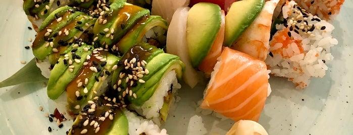 Sticks'n'Sushi is one of Orte, die Riaz gefallen.
