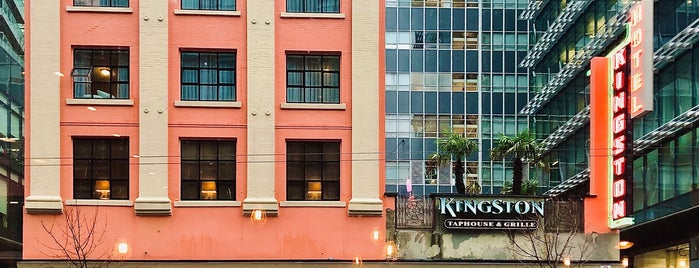 The Kingston Hotel Bed and Breakfast is one of Downtown Vancouver,BC part.3.