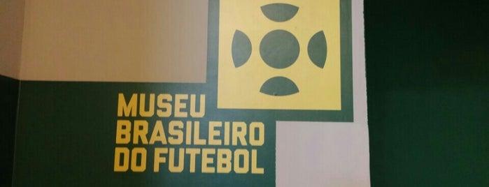 Museu Brasileiro do Futebol is one of Michelle'nin Beğendiği Mekanlar.