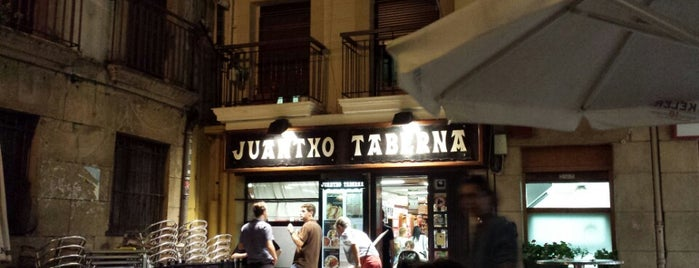 Taberna Juantxo is one of Carta de pintxos.