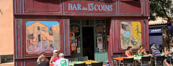 Bar des 13 Coins is one of Marseille Marceau.