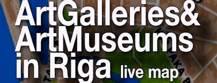 Art Galleries & Art Museums in Riga