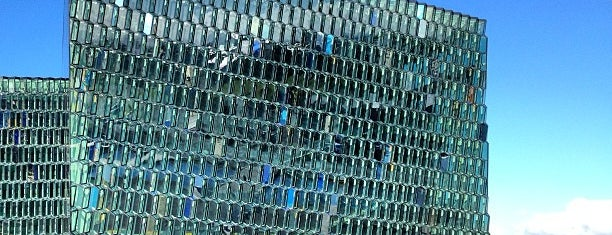 Harpa is one of Iceland.