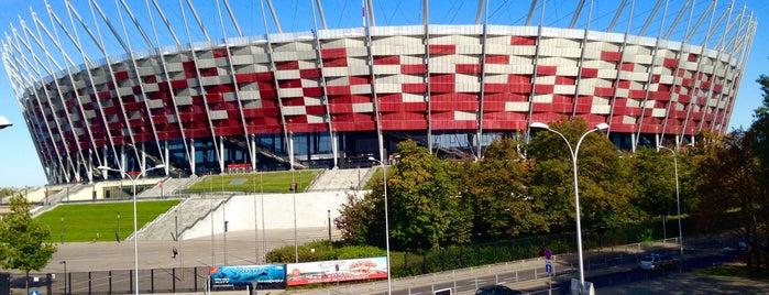 PGE Narodowy is one of Varsó.