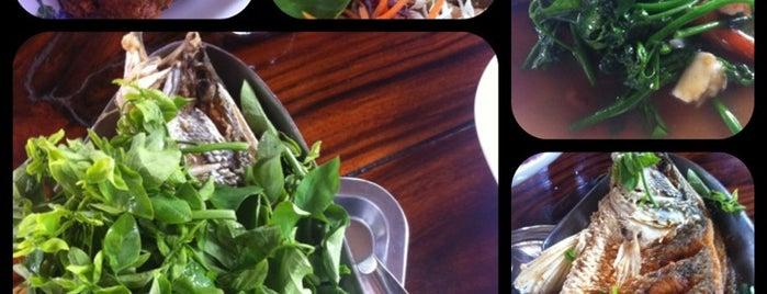 ครัวผักหวานบ้าน ไร่นฤบดินทร์ is one of Lieux sauvegardés par Om.