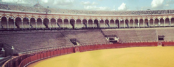 Plaza de Toros de la Maestranza is one of Seville.