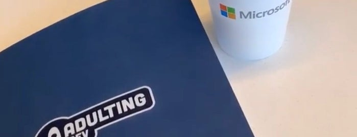 Microsoft is one of Startups & Spaces NYC + CA.
