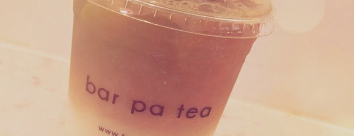 Bar Pa Tea is one of Dessert, Bakeries, & Cafes - to do.