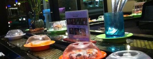 Sushi Track is one of Gespeicherte Orte von Vanessa.