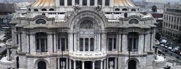 Palacio de Bellas Artes is one of Arte.