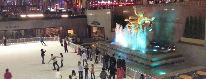 Rockefeller Center is one of USA.