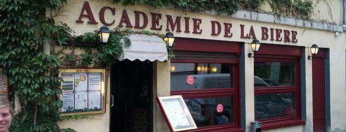Académie de la Bière is one of Tempat yang Disukai Ralf.