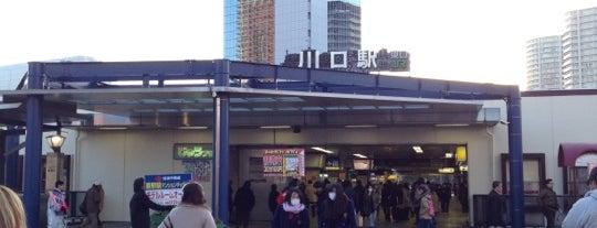 川口駅 is one of JR東日本 ポケモンスタンプラリー2013 -ポケモンを仲間にして、街の平和を取り戻せ!-.