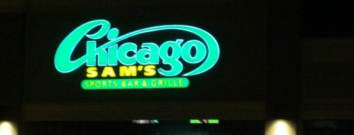 Chicago Sam's is one of National Redskins Rally Bars.