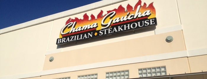 Chama Gaucha Brazilian Steakhouse is one of Posti salvati di Kim.