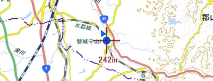 Iwaki-Moriyama Station is one of JR 미나미토호쿠지방역 (JR 南東北地方の駅).