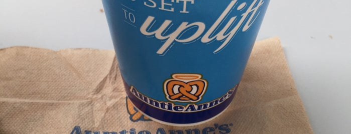 Auntie Anne's is one of Favorites.