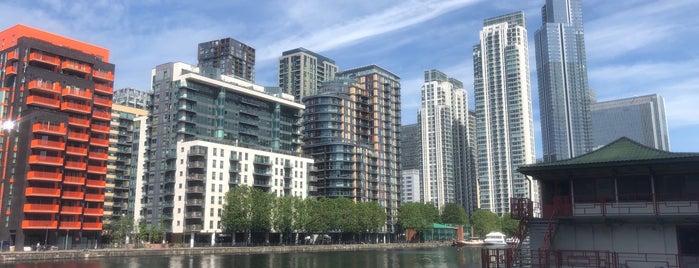 Millwall Inner Dock is one of London4.