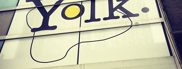 Yolk is one of United Mileage Plus Dining Spots.