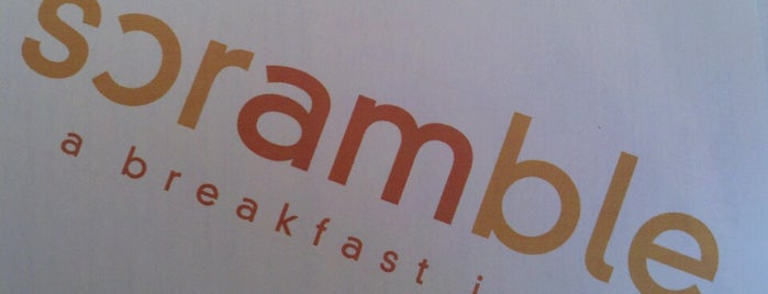 Scramble, a breakfast joint is one of Phoenix.