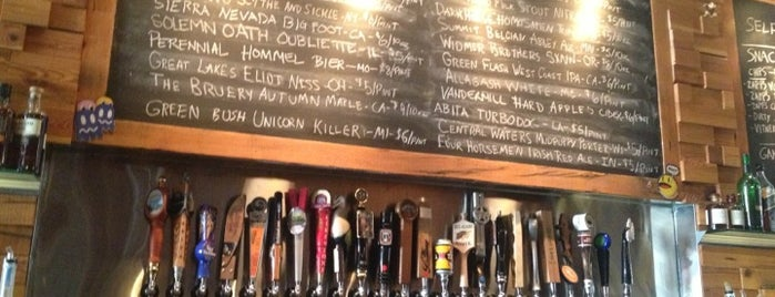 Emporium Wicker Park is one of 20 Great Spots for a Summer Beer in Chicago.