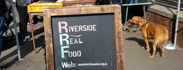 Riverside Farmers Market is one of Wales.