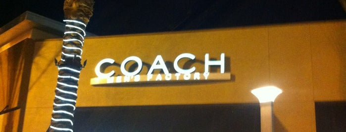 COACH Outlet is one of Las Vegas.