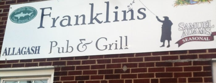 Franklin's is one of Tonyさんのお気に入りスポット.