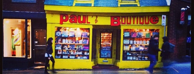 Paul's Boutique is one of Canada.