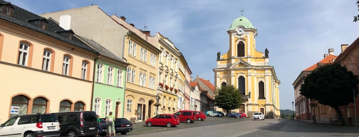 Úštěk is one of Poklady CZ.