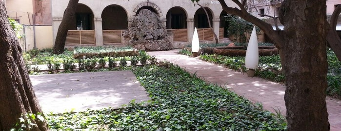 Hotel Petit Palace Boquería Garden is one of Barna in Family.