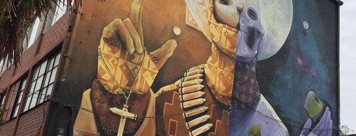 Museo A Cielo Abierto is one of Cuando esté en Santiago.