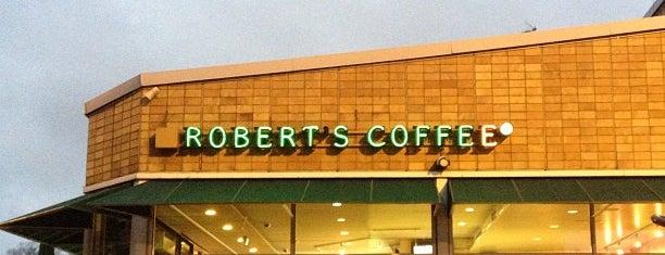 Robert's Coffee is one of Lugares favoritos de Sean.