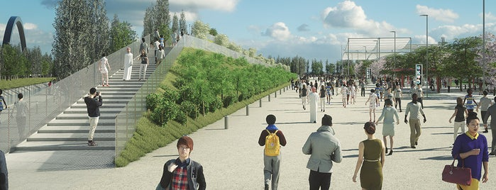 Mediterranean Hill is one of Expo Milano 2015.