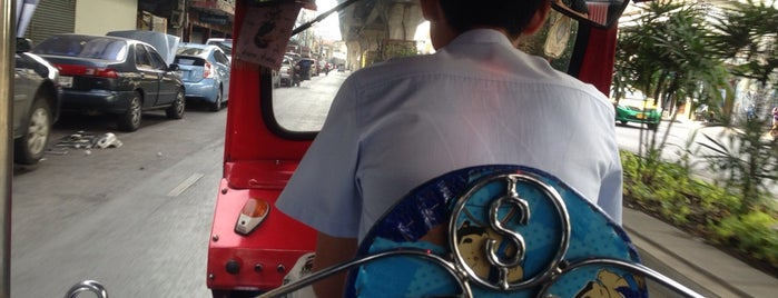 Tuk Tuk is one of World Travel Musts.