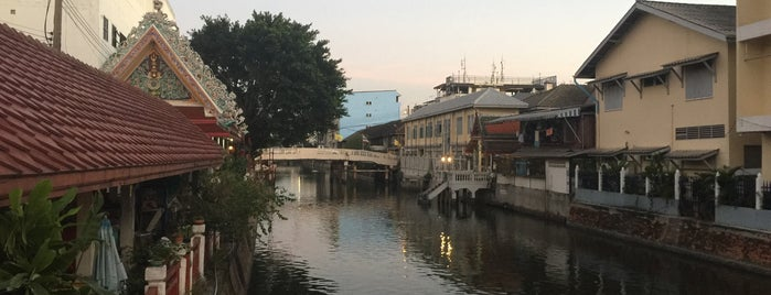 Banglamphu Canal is one of Trips / Thailand.
