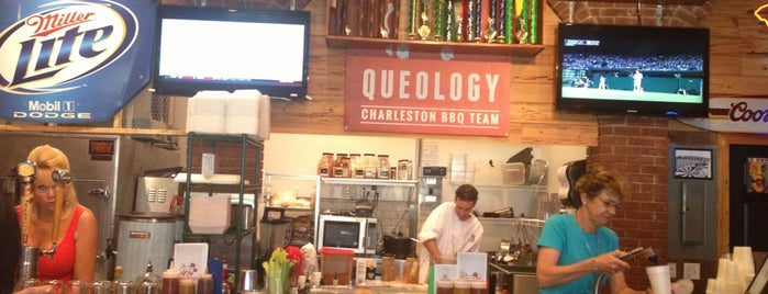 Queology BBQ is one of Charleston.