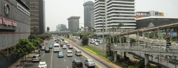 Halte TransJakarta Sarinah is one of Jakarta Pusat.