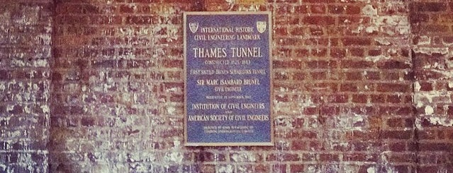 Thames Tunnel (Brunel) is one of London-Live music.