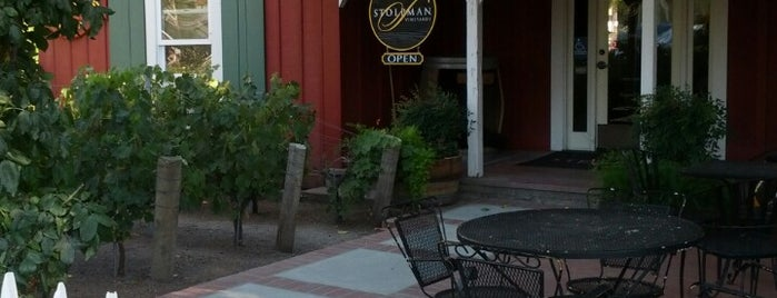 Stolpman Vineyards - Los Olivos Tasting Room is one of Santa Barbara Wineries.